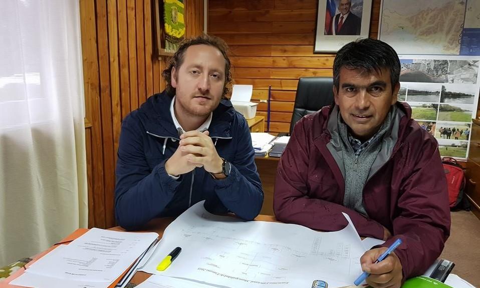 Municipalidad de Futrono presentó a nuevo administrador municipal